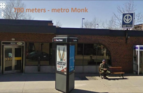 New 2 bedroom, 5 minutes to metro, wi-fi and phone