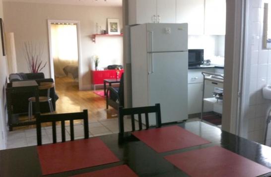 Appartement 3 ½ (1 chambre fermée) Location temporaire