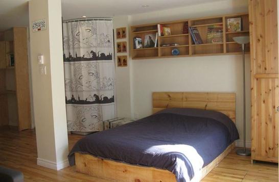 Studio meublé sur le Plateau Mont Royal/Furnished studio Plateau Mont Royal